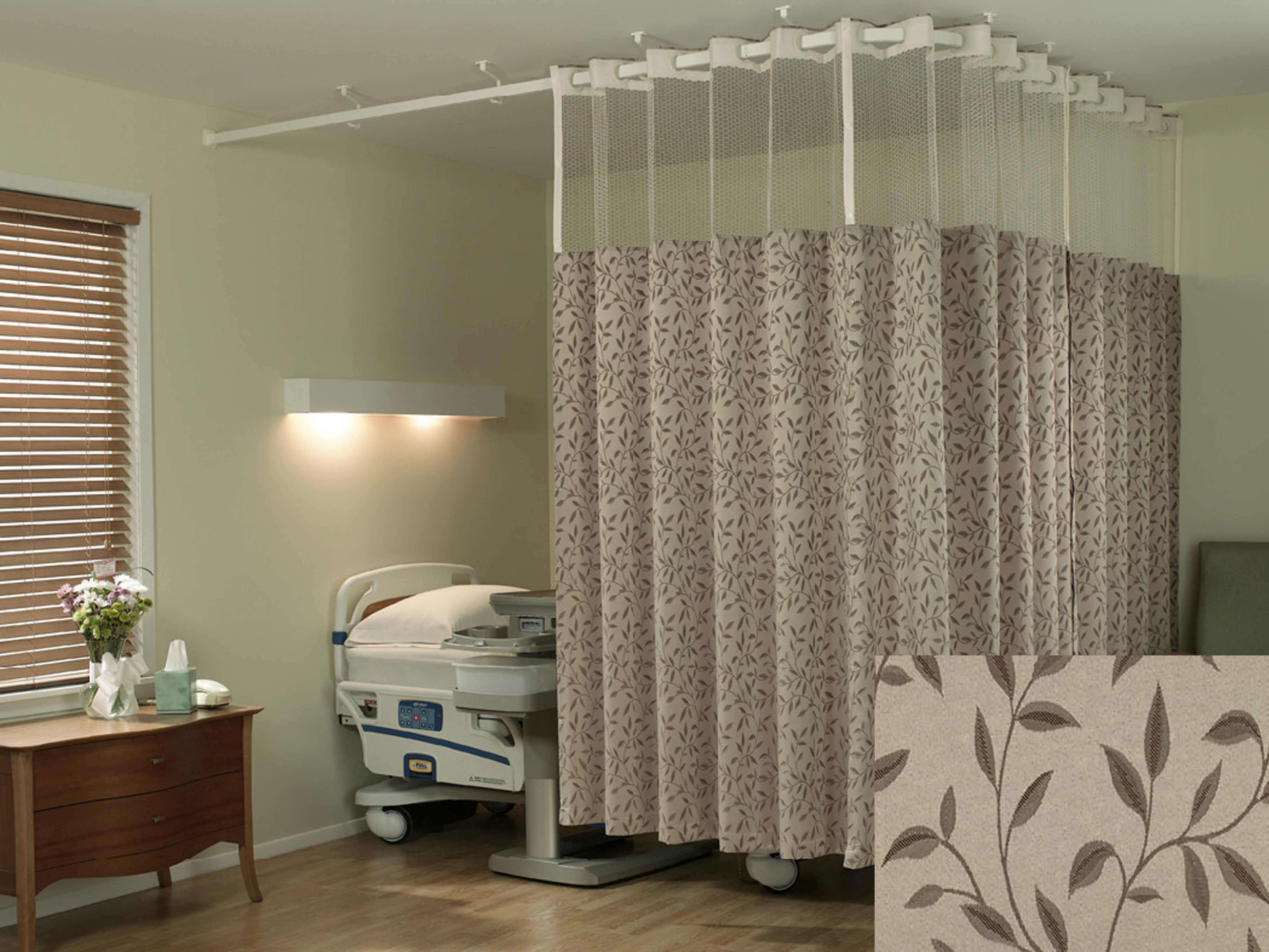 hospital system curtains products cubicle ecotex eco curtain trax